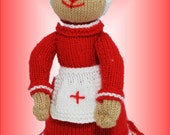 Florence Bear - an easy knitting pattern for a great gift