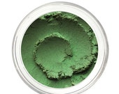 SALE PARSLEY - Green Eyeshadow Mineral Makeup - Pure & Natural Mineral Eye Color Pigment - Noella Beauty Cosmetics