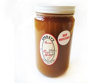 1 lb. Jar of Raw Unfiltered Honey