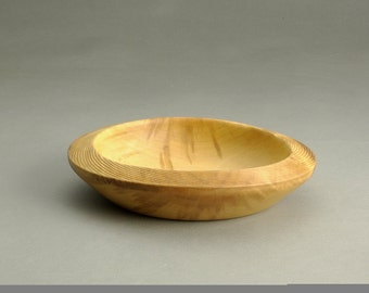 Spalted Maple Bowl with a Twist