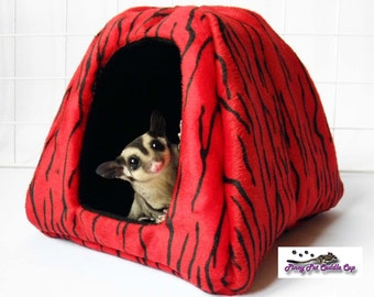 Sugar glider and rat small tent bed & Sugar glider bed | Etsy