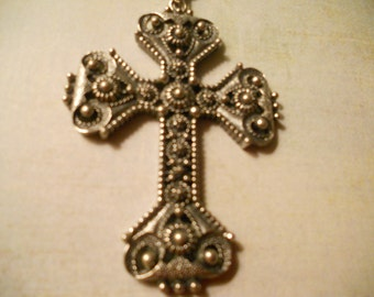 Sarah Coventry Cross Pendant and Chain - Limited Edition