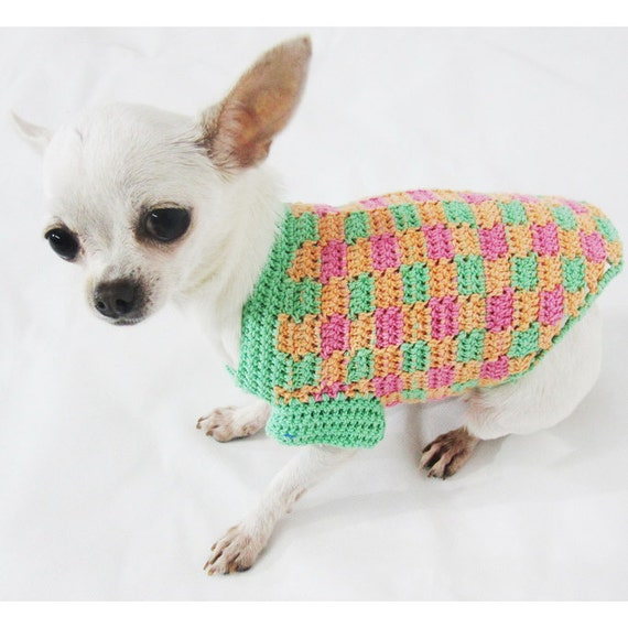 Free Crochet Pattern For A Teacup Yorkie Dog Sweater | Dog Breeds ...