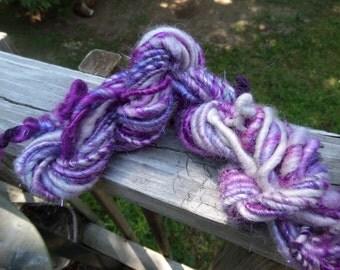 Art Yarn, Handspun Art Yarn, 14 yds., 6 wpi, Bulky Yarn