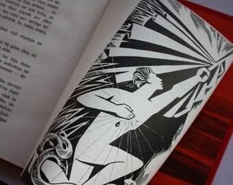 1968 Soviet book - Vintage Maksim Gorky russian classics works