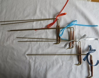 "12"" - 13"" Copper and Brass Dowsing Rods"