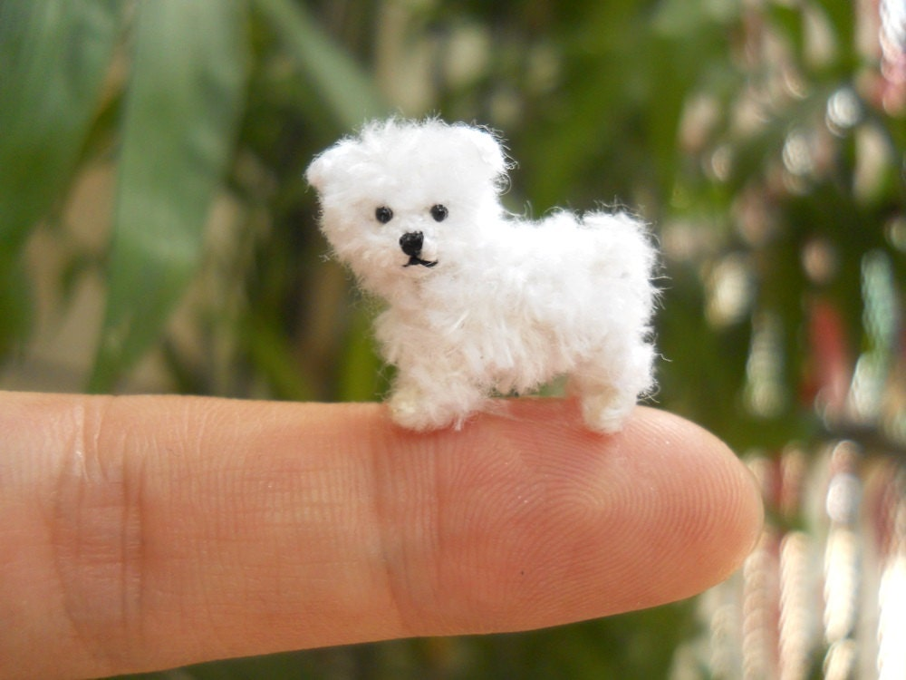 Stuffed Maltese Dog Toy