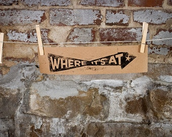 Where It's At - MISTAKE PRINT