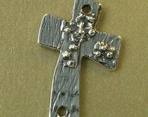 "Sterling Artisan ""Cross in the Wind"" Pendant No. Cross1ss"
