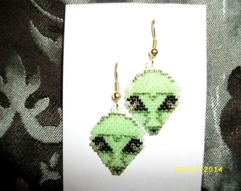 From Another Planet Earrings