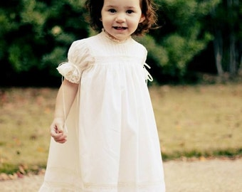Handmade Heirloom Girls Dress and Slip