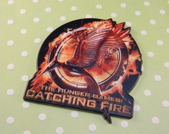 Hunger Games: Catching Fire Cake Topper / Pop Top  / Decorations / Party theme
