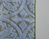 Vintage patterned cotton hand towels