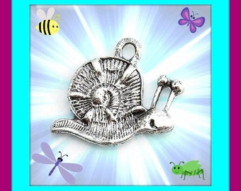 Snail Charms