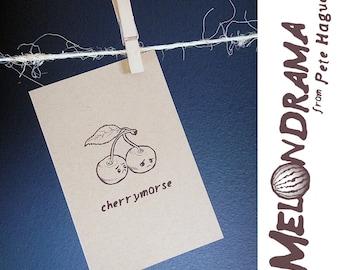 Cherrymorse - MELONDRAMA - Blank Card