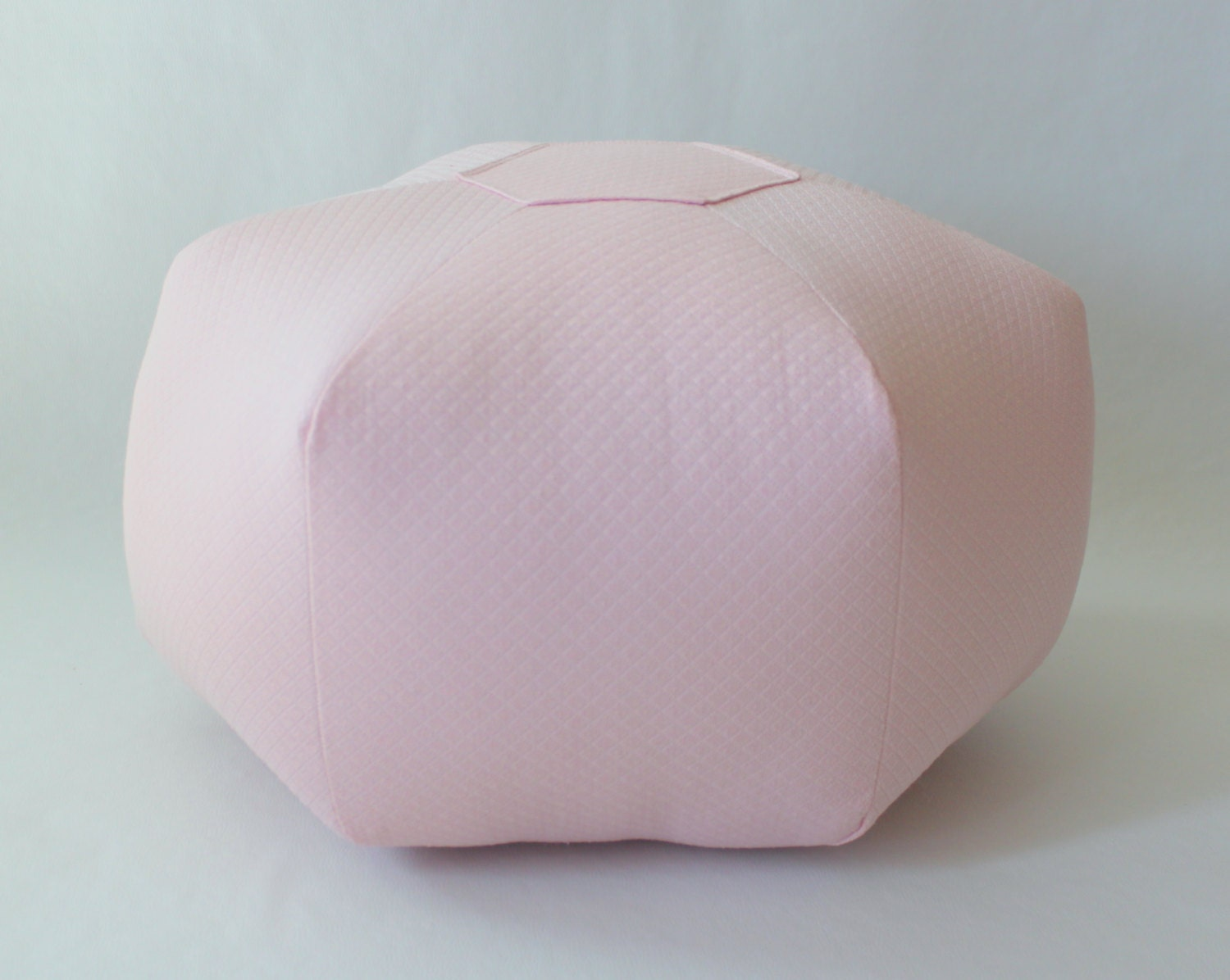Light Pink Floor Pillows : 18 Pouf Ottoman Floor Pillow Solid Light Pink