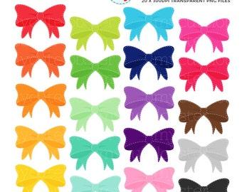 Bow clipart | Etsy