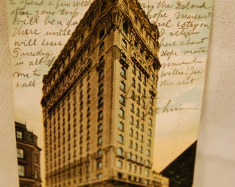 Antique Postcard of Hotel St. Regis,5th Ave., & 55th St. New York Postmarked Sept. 7 1906 Sent from NY City NY to Atlanticville  SC  Epsteam