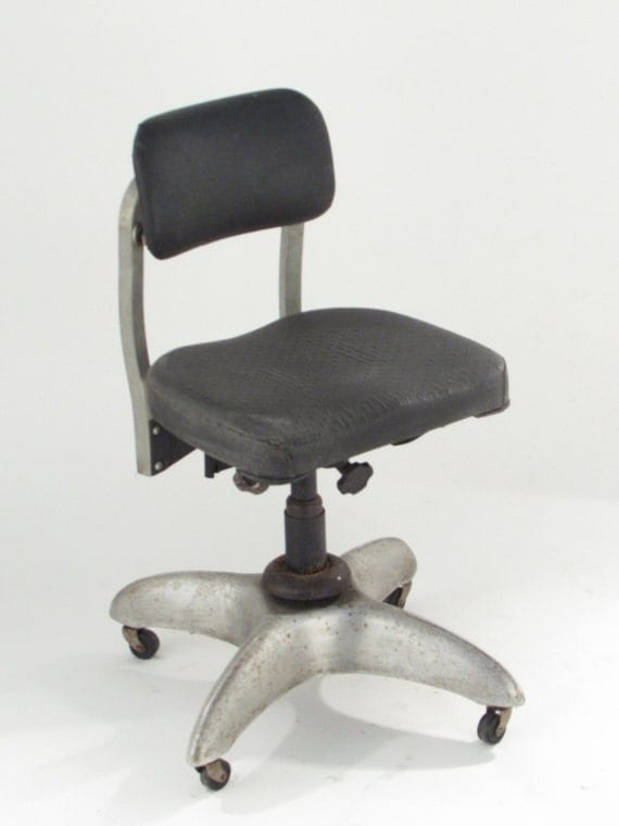 items similar to goodform metal office chair vintage