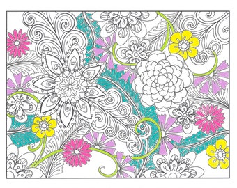 Popular Items For Zendoodle Doodle On Etsy