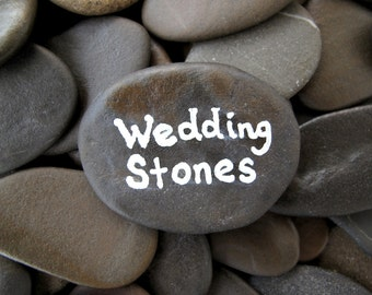 Popular items for table decor on etsy for Where to buy flat rocks for crafts