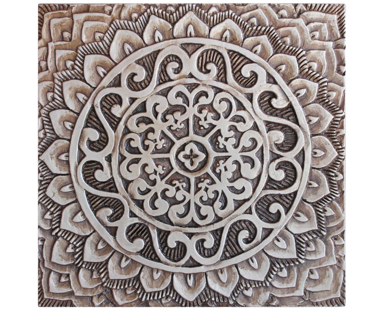 Mandala ceramic art ceramic tile decorative tile - Wall decor tiles ...