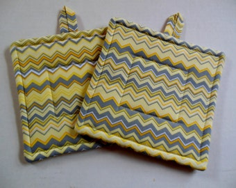 Chevron Potholders