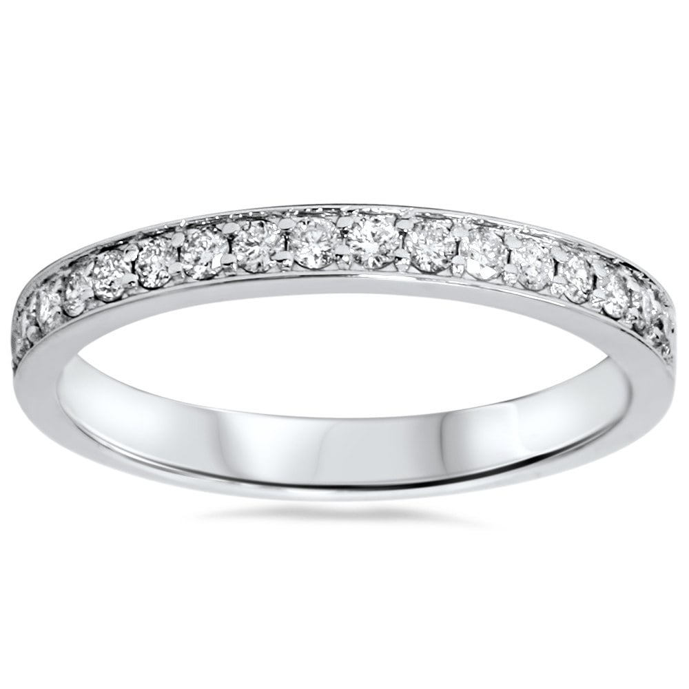 3ct diamond wedding ring stackable womens band anniversary