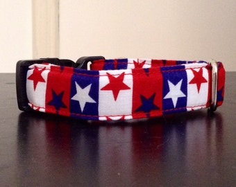 Stars and Stripes - Eco Dog Collar