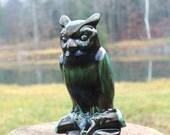 Blue Mountain Pottery Owl