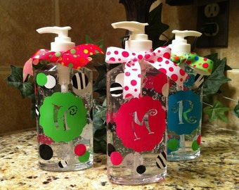 Personalized Hand Sanitizer - Teacher Gift - Back To School - Hostess Gift- Nurse Gift - School Staff - Secretary - Principle