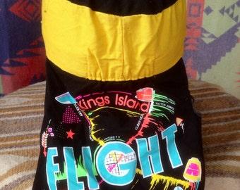 Vintage King's Island Flight Commander hat