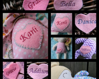 ADD A NAME, Personalized