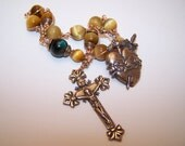 Unbreakable single Decade Rosary of The Pierced Sacred Heart of Mary