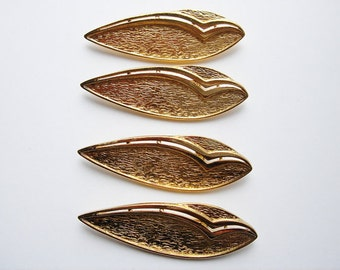 34 Vintage Gold toned Modern Brooches CS081. Regular price 39.99 25% off now 29.99