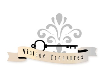 Vintage Style Logo design, customizable Pre-made Vintage logo design