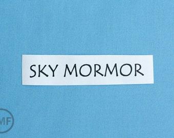 Half Yard Mormor Solid in Sky, Lotta Jansdotter, Windham Fabrics, 100% Cotton Fabric,  37122-9