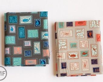 Fat Quarter Bundle Homebody Philately, 2 Pieces, Kim Kight, Cotton+Steel, RJR Fabrics, 100% Cotton Fabric, 3003