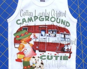 Back To School Shirt -Kid's Shirt - Campground Cutie -  Kids Clothes -Toddler Shirt - Cool Kids Clothes