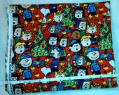 Peanuts Christmas Carols Fabric