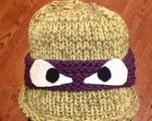 Ninja Turtle hat reserved for Jessica