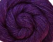 diteggiatura di TANZANITE di SW merino nylon stellina calzino filato peso 3,5 oz 435 iarde