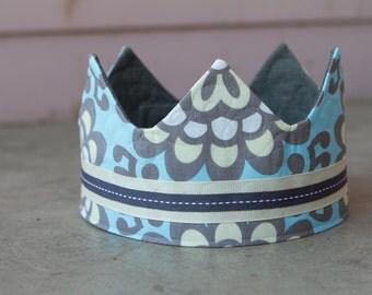 fabric Crown / Birthday Crown - Princess Amy
