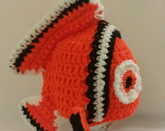 Popular items for crochet nemo on Etsy