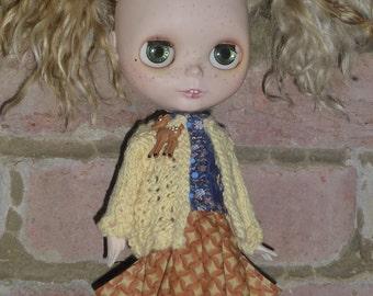 Blythe Spring / Summer Blouse, Jacket & Skirt.  (BD77414)