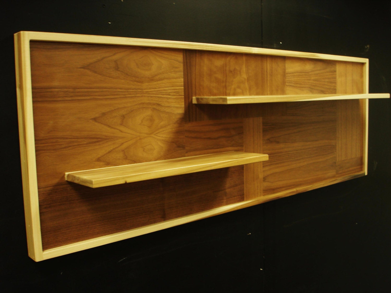 mid century modern shelf by monkehaus on etsy. Black Bedroom Furniture Sets. Home Design Ideas