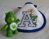 Care Bears Letter A Machine Stitched Infant Bib