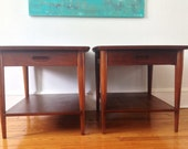 Pair of Mid Century Modern Lane Side Tables