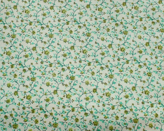 Calico cotton dollhouse fabric miniature by jacobandchloesllc for Fabric by the yard near me