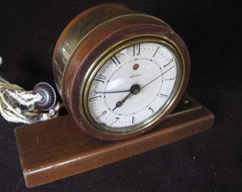 Old Telechron Electric Mantel Clock
